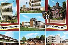 21725 AK Dormagen Hackenbroich NRW Hochhäuser Spielplatz Ansichten Autos um 1970