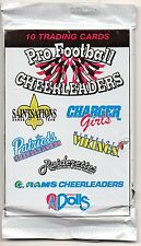Pro Football Cheerleaders Sealed Pack 1995 New
