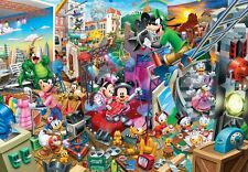 Tenyo Japan Jigsaw Puzzle DG-2000-617 Disney Mickey Movie Studio (2000 Pieces)