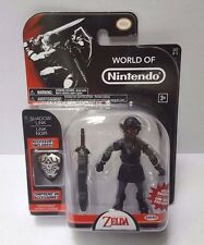 "World of Nintendo SHADOW LINK Exclusive Figure 4"" Legend of Zelda Series 2-1"