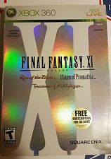 FINAL FANTASY XI --- XBOX 360 w/ Original Box