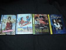 Lote De 4 Peliculas En DVD David Copperfield - Con Sangre Y Fuego Freda Y Camila