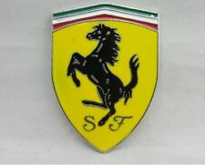 NEW Metal 3D Car SJ Logo Emblem Badge Car Sticker for Ferrari
