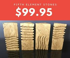 Rare The Fifth Element Movie Prop Stones - Elemental Stones - 1:1 Scale - L@@K