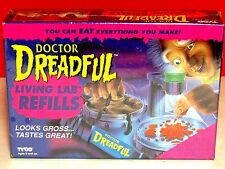 Vintage 1990's Doctor Dr Dreadful Food Drink Lab Refills TYCO Box Monster