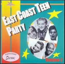 EAST COAST TEEN PARTY Volume 2 CD NEW 1950s rock 'n' roll rhythm & blues