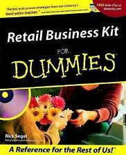 Retail Business Kit For Dummies (For Dummies (Lifestyles Paperback)), Segel, Ric