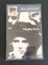 THEN JERICO Music Cassette THE BIG AREA New Free Shipping 1989 Sealed