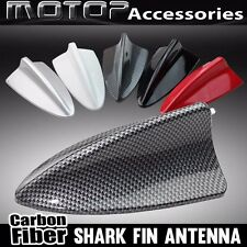 CARBON FIBER STYLE DUMMY BMW SHARK FIN ROOF DECORATIVE AERIAL ANTENNA DECORATION