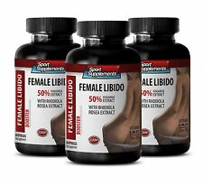Female Enhancers - FEMALE LIBIDO BOOSTER SS - Increase Overall Sexuality 3B