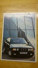 1988 BMW 5-Series Brochure Inc. 535i