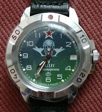 Wrist Mechanical Watch VOSTOK KOMANDIRSKIE Commander Military VDV 431818