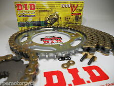 TRIUMPH 1050 Speed Triple, Sprint 05-12 DID  530 X-Ring CHAIN AND SPROCKETS KIT