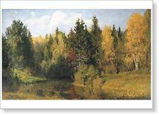 Autumn in Abramtsevo. By Vasily Polenov. Fine art print NEW