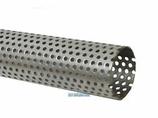38mm 1.5 Inch T304 Stainless Steel Perforated Tube Pipe  Exhaust Repair 1/2 MTR