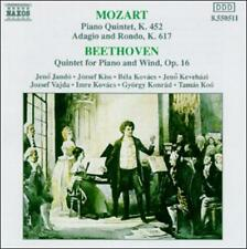Mozart: Piano Quintet, K452; Adagio and Rondo, K617; Beethoven: Quintet for CD