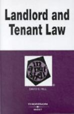 Landlord and Tenant Law in a Nutshell In a Nutshell West Publishing))
