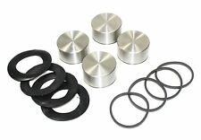 Set 4 avant étrier pistons (inoxydable) & joints ford consul mkii & 375 1960-62