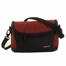 Delsey GOPIX II 120 Case Bag Pouch Holdall for Camera Camcorder Black/Red