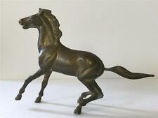 Vintage Antique Solid Brass Horse Figurine Statue Collectible