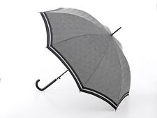 Fulton Riva Auto 2 Umbrella - Prince of Wales Stripe