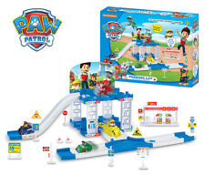 PAW PATROL Car Park Playground Figure Include 2 Pups Car Kids Children Gift Toys