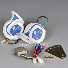 Digital Electric 12V Siren Loud Air Snail Horn magic 18 Sounds Car Truck Vehicle