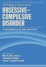 Psychological Treatment of Obsessive-Compulsive Disorder: Fundamentals And Beyon