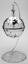 """TOWLE SILVERSMITHS 2004 Musical Ornament Ball """"Silent Night"""" w Stand MINT IN BOX"""