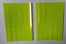 Lot of 12 Pieces - 3M™ Yellow Reflective Tape Pads 6 in x 4 in