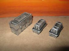 Star Wars Military Custom Cast Diorama Parts Crates Set of 3  3.75 Scale Figures