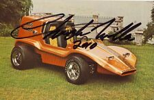 Chuck Miller Autographed Bugs Bunny Show Hot Rod Photo POSTCARD Sand Dune Buggy