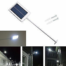 Ultra-Thin Solar Power Outdoor Light Garden Lamp Waterproof Solar Sensor Wall St
