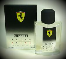 FERRARI FERRARI BLACK SHINE Uomo 125 ML EAU DE TOILETTE (EDT) SPRAY