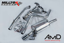 Fiesta ST150 Milltek Exhaust Manifold  Decat Pipe &  Non Resonated Cat Back