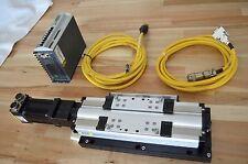 Parker 404XR Linear Actuator, SM232AE-NGSN Brushless Servo & Gemini GV-L3E Drive