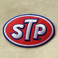 STP RACE RACING OIL NASCAR CAR LOGO MOTOR EMBROIDERY IRON ON PATCH BADGE #RED