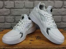 NIKE MENS UK 8 EU 42.5 WHITE AIR FLIGHT LO HAURACHE TRAINER RRP £85