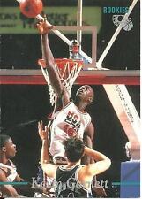 1995 Classic Rookies Kevin Garnett rookie card, Minnesota Timberwolves legend