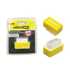 nitro OBD2 Plug and Drive OBDII performance chip Tuning Box for Benzine Yellow