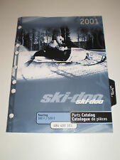 SKIDOO  PARTS CATALOG  MANUAL 2001  TOURING 380 F / 500 F