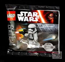 LEGO Star Wars First Order Storm Trooper, 30602, EXCLUSIVE Minifigure New