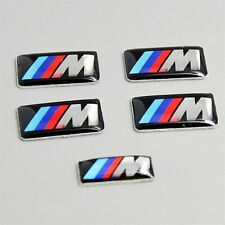 5 X M SPORT 3D 4 WHEEL Badge 1 For Steering Emblem Decal For BMW 3 Series X5 X6