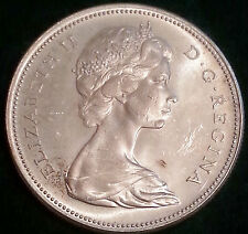 100th ANNIVERSARY OF CONFEDERATION 1867-1967 CANADA DOLLAR