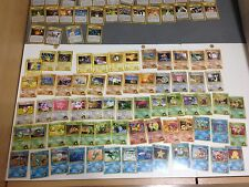 ☀ Nintendo Pokemon Card Gym Heroes COMPLETE ORIGINAL JAPANESE SET INC HOLOS 96 ☀