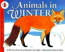 Animals in Winter (Let's-Read-and-Find-Out Science 1)-ExLibrary