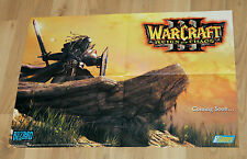 2002 Blizzard Warcraft III Reign of Chaos / Counter-Strike Condition Zero Poster