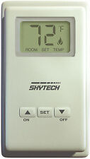 Skytech TS/R-2 Wireless Wall Mounted Thermostat Fireplace Remote Control