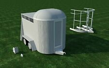 Build your own Horse Trailer (DIY Plans) Fun to build!