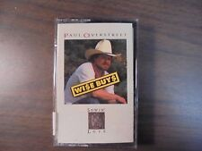 "NEW SEALED ""Paul Overstreet"" Wi$e Buy$  Tape   (G)"